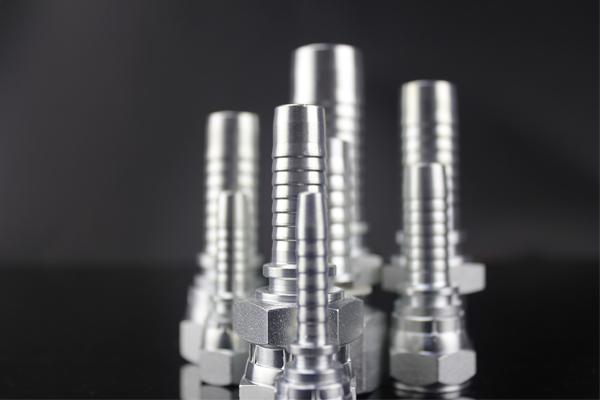 Nipplo idraulico DKOL DKOS 24 gradi dritto e gomito