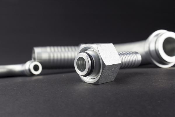 Cono a 24 gradi Attacco idraulico standard DKOL DKOS con filettatura metrica