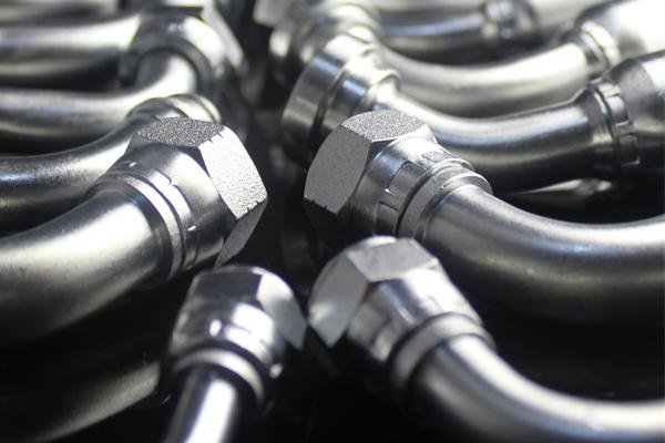 Raccordi e adattatori idraulici Raccordi per tubi flessibili per sede conica 74 GB Metric 74 Pezzi Hydaulic 20791